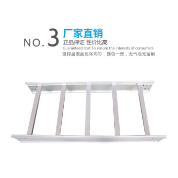 Aluminum alloy ladder cable tray