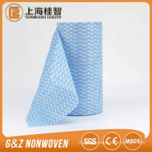 Hot selling high quality cheap spunlace cleaning cloth roll non woven fabric