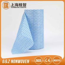 Горячий продавать высокое качество дешевые спанлейс крен ткани чистки Non сплетенная