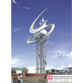 Outdoor Art Stainless Steel Sculpture