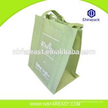 Bolso de compras no tejido chino laminado barato