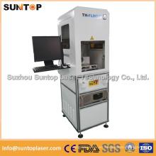 Máquina automática de la marca del laser 20W / máquina de grabado del laser del metal
