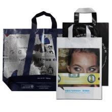 Premium Kundenspezifische bedruckte Plastik-Einkaufstasche