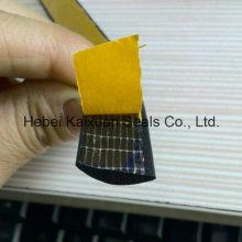 Half Round Adhesive Waterproof EPDM Rubber Foam Seal Strip