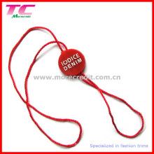 Custom Plastic Seal Hang Tag für Kleidungsstück