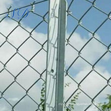 11.5 Gauge Galvanized Chain Link Fence For Chicken Farms