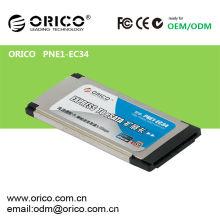 1 cartão eSATA Express Card para Laptop slot de 34mm / 54mm