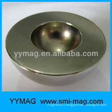 customized half round neodymium magnet