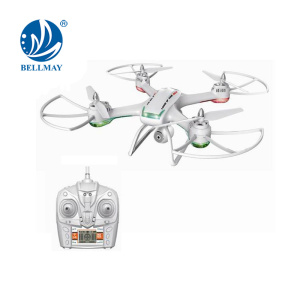 2.4GHz 4CH 6Axis Professional RC Drone With 2Mp FPV Real Time Transmission Camera