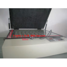 T Hot sale middle vacuum uv exposure unit
