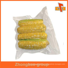 Guangzhou material de embalaje proveedor sello térmico de impresión de alimentos a medida bolsa de plástico de vacío