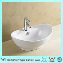 Popular Design Sanitaryware Cheap Countertop Ceramic Basin
