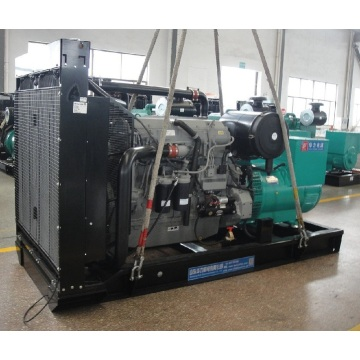 520KW+diesel+engine+generator+working