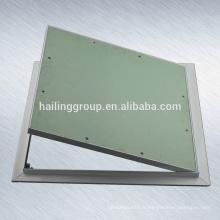 Panneau d'accès en aluminium pour panneaux de gypse pour cloison sèche et plafond