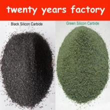 Carburo de silicio negro / Carborundum con Sic 98.5% Min. (Grado abrasivo y grado refractario)