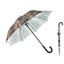 Parapluie coupe-vent d'impression de peau animale de haute qualité (YS23083915R)