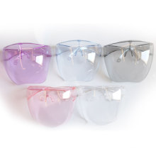 Children Kids Color Outdoor Riding Sports Anti Fog Protective Polycarbonate Face Cover Visors