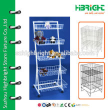 Retail Store Versa-Rack with Baskets