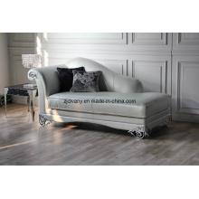Sofa de loisirs en cuir en bois de Style post-moderne (LS - 109D)