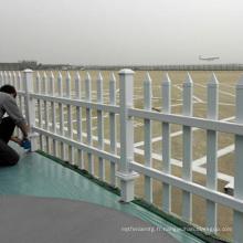 clôture horizontale en aluminium pliante