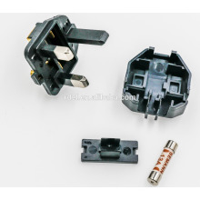 UK-01 UK Plug Insert with plastic earth pins 13A