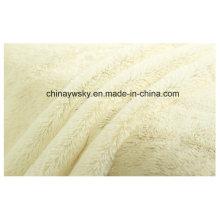 Tissus matériels luxuriants / tissus en peluche tricotés / tissus en molleton PV