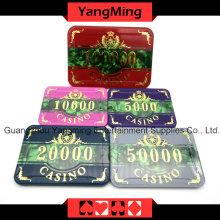 Chip de acrílico del póker fijado (760PCS) Ym-Focp001