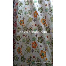 Tissu 100% coton teint pour draps