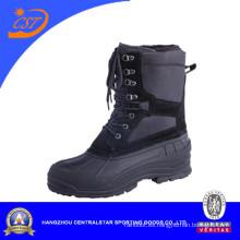 Zapatos al aire libre calientes europeos de las botas de la nieve del estilo (XD-180)