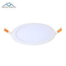 Ultra slim solar power surface mounted ceiling round led panel light 18w