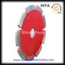 4 Inch Diameter Segmented Diamond Saw Blade for Granite Marble