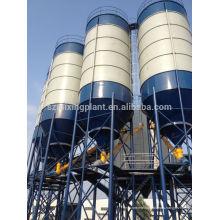 100 toneladas de silo de almacén de cemento precio bajo con diseño de la fundación tipo pieza