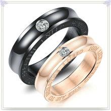 Jóias de aço inoxidável acessórios de moda dedo anelar (SR731)