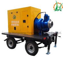 8 pulgadas portátil auto cebador Remolque Diesel Pump Set