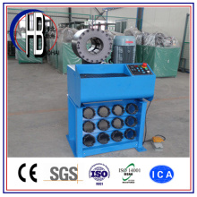 China Nova Promoção Mangueira Hidráulica Máquina de Friso com Ferramentas de Mudança Rápida