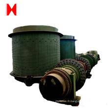 système de matériaux d'alimentation de treuil de treuil