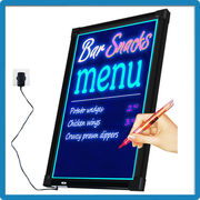 Best selling li-battery outdoor funny product glow in the dark unique led light for writing board new product ideas