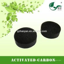 Carbone activé par nid d'abeilles de forme cubique pour la purification d'air
