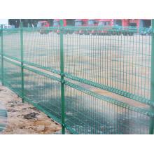 PVC beschichtete Schafe geschweißter Maschendraht-Zaun für Hinterhof