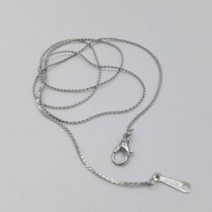 Love Pearl Silver Plated Copper Chain