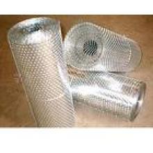 Maille en métal perforée de bobine d'acier doux