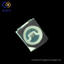 Couleur noire noire de puce de Sanan de lumens de 0,06 W de surface élevée 3528 SMD LED