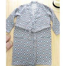 Albornoz para hombres Kimono batas de algodón para hombres