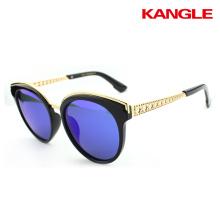Cadre de lunettes de soleil de fibre de carbone de mode pour la vente en gros 2017