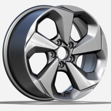 Custom Honda Civic Replica Felge 17x7,5 Silber