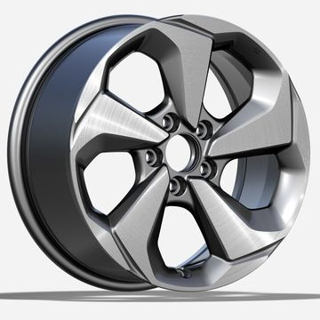 Custom Honda Civic Replica Rim 17x7.5 Plata