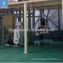 Equipment for 100tpd corn grits production for human consumption