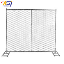 Hot dip galvanized chain link fence designs in USA