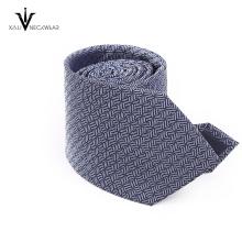 Kundenspezifische Polyester-Normallack-Crew-Schnitt-Bindungskrawatte In China
