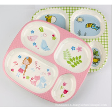 (BC-TM1014) Hot-Sell High Quality Reusable Melamine Multifunction Serving Tray